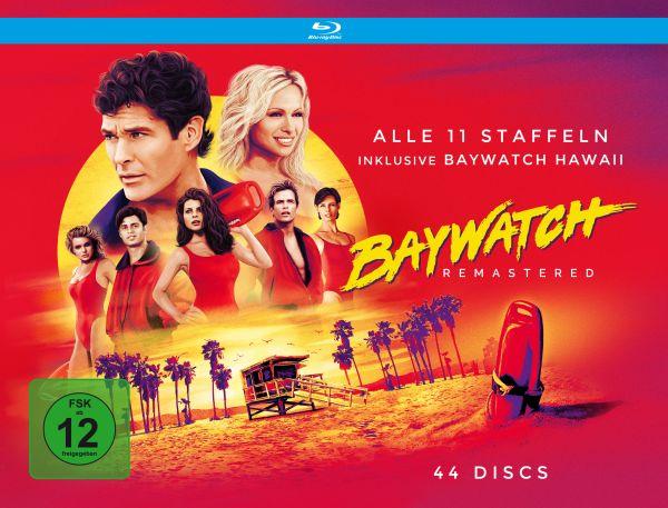 Baywatch HD - Komplettbox: Staffeln 1-9 inkl. Baywatch Hawaii HD (44 Blu-rays)