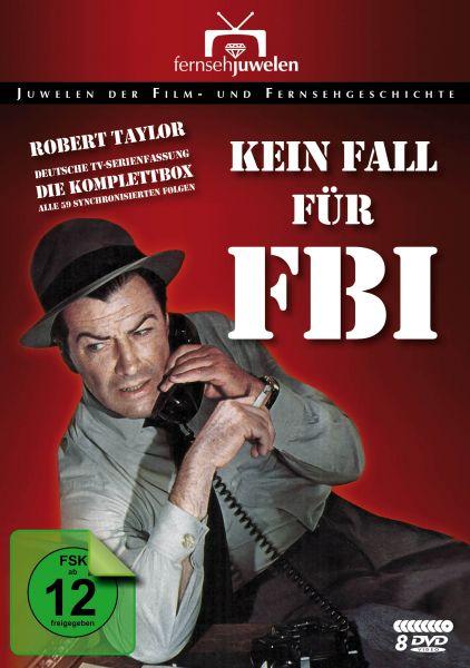 Kein Fall für FBI - Komplettbox (Deutsche TV-Serienfassung) (8 DVDs)