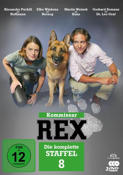 Kommissar Rex - Die komplette 8. Staffel