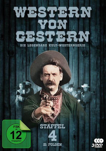 Western von Gestern - Staffel 4 (21 Folgen)