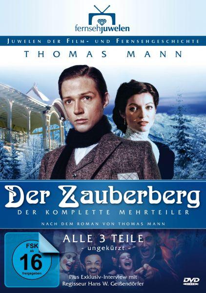 Der Zauberberg - Der komplette Dreiteiler (Thomas Mann) (Langfassung)