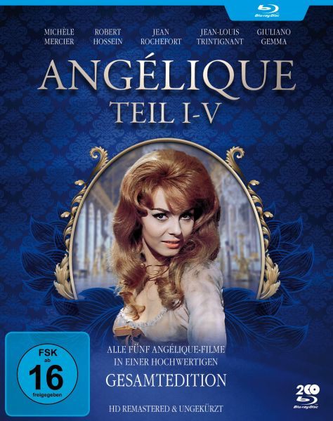 Angélique I-V - Gesamtedition (Alle 5 Filme - HD remastered)
