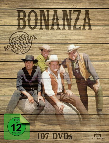 Bonanza - Komplettbox (Staffel 1-14) (107 DVD)