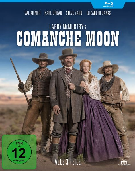Larry McMurtry's Comanche Moon - Alle 3 Teile