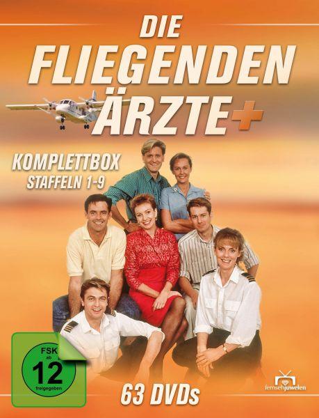Die fliegenden Ärzte - Komplettbox (Staffel 1-9) (63 DVDs)